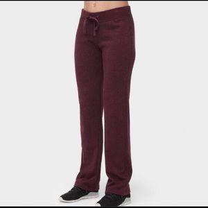 UGG Burgundy Fleece Lounge Sweatpants